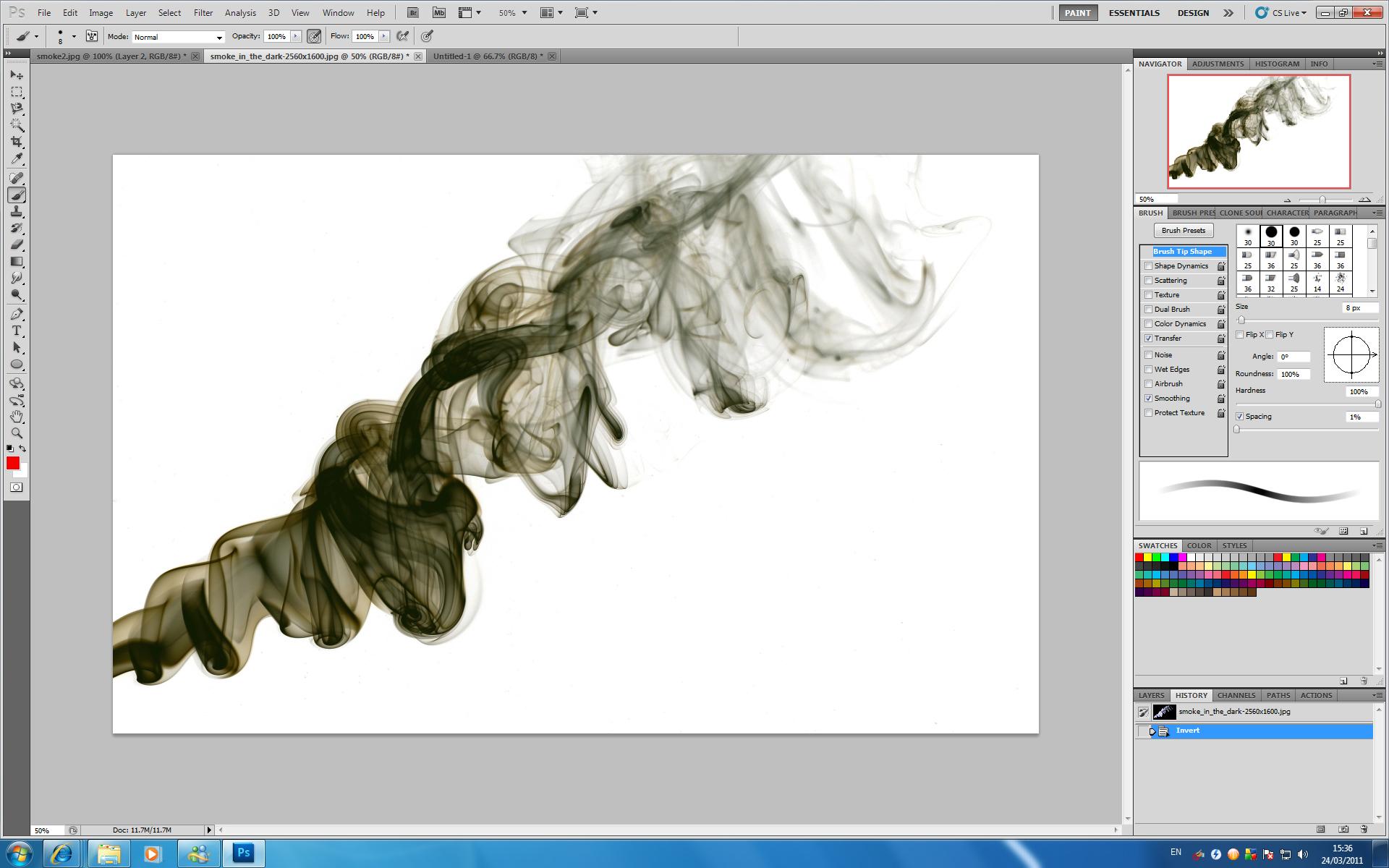 фотошоп видео уроки растворение в дыму